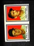 1962 Topps Stamp Panels #134  Bob Miller / Ron Hansen  Front Thumbnail