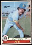 1979 O-Pee-Chee #46  Jim Todd   Front Thumbnail