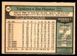 1979 O-Pee-Chee #352  Catfish Hunter  Back Thumbnail