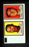 1962 Topps Stamp Panels #158  Vada Pinson / Frank Howard  Front Thumbnail