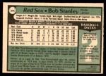 1979 O-Pee-Chee #314  Bob Stanley  Back Thumbnail