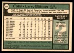 1979 O-Pee-Chee #224  Larry Biittner  Back Thumbnail