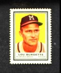 1962 Topps Stamps #146  Lew Burdette  Front Thumbnail