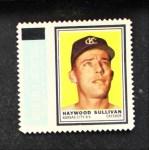 1962 Topps Stamps #60  Haywood Sullivan  Front Thumbnail