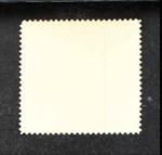 1962 Topps Stamps #51   Kansas City Emblem Back Thumbnail