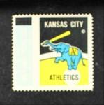 1962 Topps Stamps #51   Kansas City Emblem Front Thumbnail