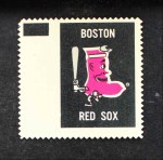 1962 Topps Stamps #11   Boston Emblem Front Thumbnail