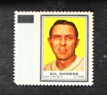 1962 Topps Stamps #155  Gil Hodges  Front Thumbnail