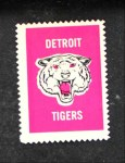 1962 Topps Stamps #41   Detroit Emblem Front Thumbnail