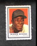 1962 Topps Stamps #188  Minnie Minoso  Front Thumbnail