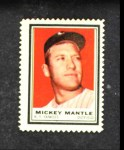 1962 Topps Stamps #88  Mickey Mantle  Front Thumbnail