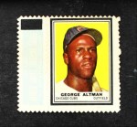 1962 Topps Stamps #103  George Altman  Front Thumbnail