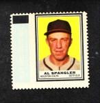 1962 Topps Stamps #130  Al Spangler  Front Thumbnail