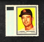 1962 Topps Stamps #184  Larry Jackson  Front Thumbnail