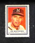 1962 Topps Stamps #148  Eddie Mathews  Front Thumbnail