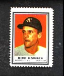1962 Topps Stamps #53  Dick Howser  Front Thumbnail