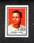 1962 Topps Stamps #48  Frank Lary  Front Thumbnail
