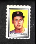 1962 Topps Stamps #15  Bill Monbouquette  Front Thumbnail