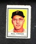 1962 Topps Stamps #181  Bill Virdon  Front Thumbnail