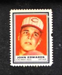 1962 Topps Stamps #114  Johnny Edwards  Front Thumbnail