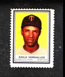 1962 Topps Stamps #81  Zoilo Versailles  Front Thumbnail