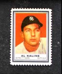 1962 Topps Stamps #47  Al Kaline  Front Thumbnail