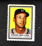 1962 Topps Stamps #145  Frank Bolling  Front Thumbnail