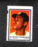1962 Topps Stamps #86  Elston Howard  Front Thumbnail