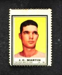 1962 Topps Stamps #27  J.C. Martin  Front Thumbnail