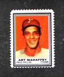 1962 Topps Stamps #171  Art Mahaffey  Front Thumbnail