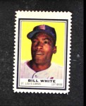 1962 Topps Stamps #191  Bill White  Front Thumbnail