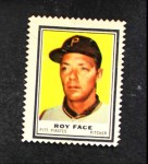 1962 Topps Stamps #175  Roy Face  Front Thumbnail