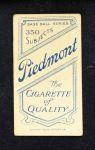 1909 T206  Billy Nattress  Back Thumbnail