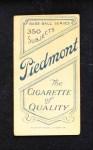 1909 T206 PHL Eddie Collins  Back Thumbnail