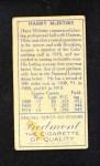 1911 T205  Harry McIntire    Back Thumbnail
