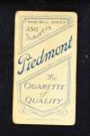 1909 T206  Jimmy Slagle  Back Thumbnail