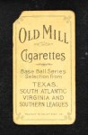 1909 T206  Shag Shaughnessy  Back Thumbnail