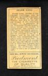 1911 T205  Frank Lang  Back Thumbnail