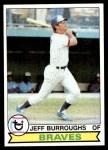 1979 Topps #245  Jeff Burroughs  Front Thumbnail