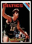 1975 Topps #170  Dave Cowens  Front Thumbnail