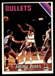 1975 Topps #23  Jimmy Jones  Front Thumbnail