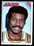 1975 Topps #182  Nate Williams  Front Thumbnail