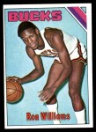 1975 Topps #198  Ron Williams  Front Thumbnail