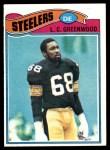 1977 Topps #355  L.C.Greenwood  Front Thumbnail