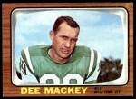 1966 Topps #93  Dee Mackey  Front Thumbnail