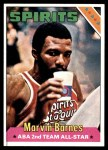 1975 Topps #252  Marvin Barnes  Front Thumbnail