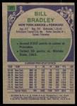 1975 Topps #37  Bill Bradley  Back Thumbnail