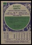 1975 Topps #63  Randy Smith  Back Thumbnail