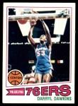 1977 Topps #132  Darryl Dawkins  Front Thumbnail
