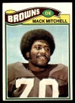 1977 Topps #393  Mack Mitchell  Front Thumbnail